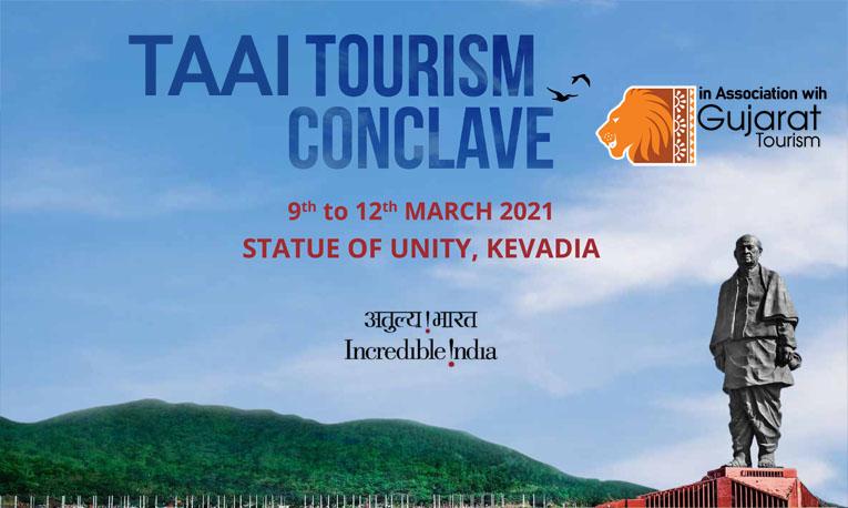 "TAAI's ""Tourism Conclave"" atStatue of Unity, Kevadia, Gujarat"